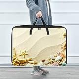 Reopx Kinder Kleidung Organisation Strand Sand Muscheln Seestern Kleidung Kleidersack 70 x 50 x 28...