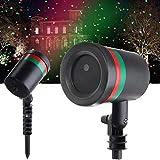 Brahmani Marketing GENKO ® Outdoor Laser Projector LED Lamp EU Plug Fairy Star with Decoration Light (Multicolour)