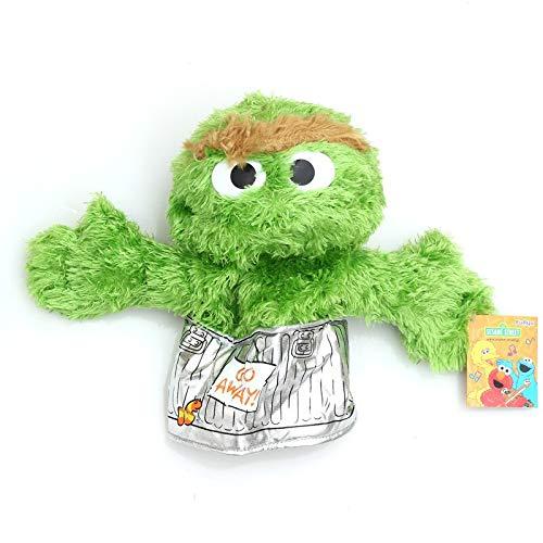 N / A Sesame Street Hand Puppet Show Big Puppet Cartoon Soft Plush Doll Birthday Christmas Party Show para niños Regalos para niños 35cm