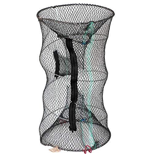 Ben-gi Netz Crab Fischernetz Crayfish Hummer Garnele Garnele Hand Falle Faltbare Fishing Network Trap-Cage zuf/ällige Farbe