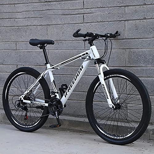 N/AO Mountain Trail Bike Bicicletta per Cambio per Adulti Bicicletta Alto Tenore di Carbonio 21...