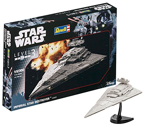Revell- Imperial Destroyer Astronave Star Wars, 10+ Años, Multicolor (03609)