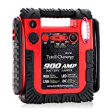 acetek Jump Starter Car Battery Charger, Emergency Power Supply 20000mAh Portable Power Pack (Up to 6L Gas or 6L Diesel Engine), 12V Portable Auto Lead-Acid Battery Booster with LED Light