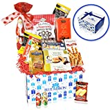 Christmas Chocolate & Snacks Variety Gift Care Package Basket – Truffles, Cookies, Santa, Cady Pack for Office, Girl, Schools, Friends & Family, Military, College, Son, Daughter, Men, Women