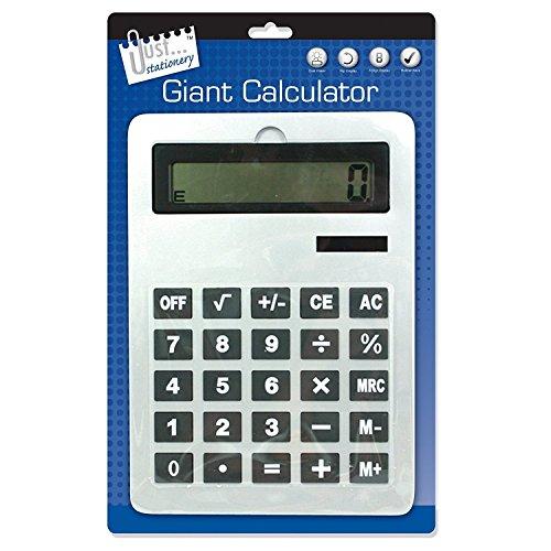 Just stationery Riesen-Taschenrechner 210 x 295 mm A4 Originalverpackung