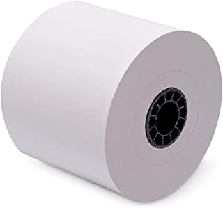80 mm x 220' Iconex Sticky Media Full Tack Linerless Labels (32 Rolls/Case)
