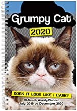 Grumpy Cat 2020 Planner 18-Month - Daily Weekly Monthly Planner Yearly Agenda Organizer 18-Month: July 2019 - December 2020