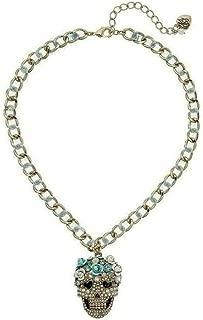 small skull necklace