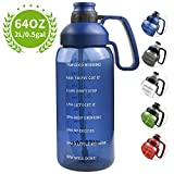 Best Filter Water Bottles - Half Gallon Water Bottle with Straw, 2l Water Review