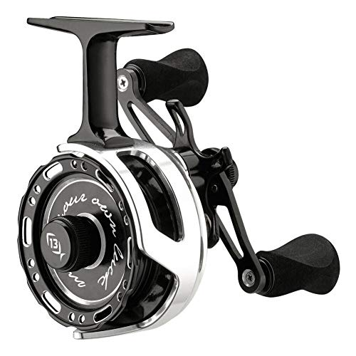 13 FISHING Black Betty 6061 Right Hand Hardwater Inline Ice Fishing Reel