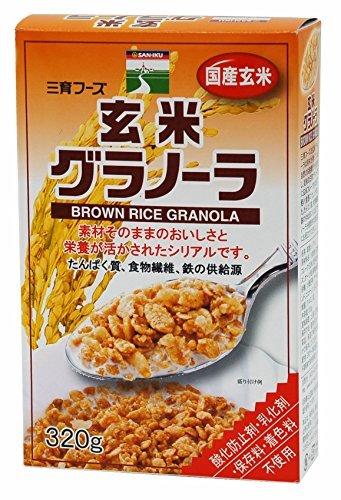 三育フーズ 玄米グラノーラ 320g ×4セット