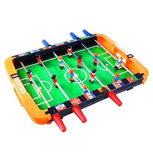 Tabletop Foosball Game, Sacow ClassicTable Portable Mini Table Soccer Game Set with Two Balls for Adults Children