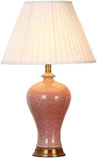 WYBFZTT-188 Moderne Décoration Tissu Abat Corps De La Lampe en Céramique, Convient for Le Salon, Chambre À Coucher
