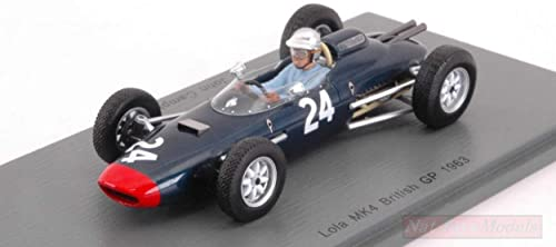 buen precio Spark Model S5332 Lola Climax Climax Climax MK4 John Campbell-Jones 1963 N.24 British GP 1 43 Compatible con  buena reputación