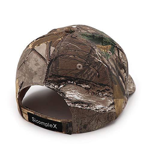 YPORE Baseball Cap Camo Baseball Cap Vissen Caps Heren Outdoor Jacht Camouflage Jungle Hoed Dames Wandelen Hoeden Geborduurd