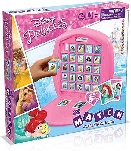 Disney Princess Top Trumps Match Board Game