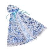 Sharplace Capa de Muñecas BJD para Accesorios de Trajes de Vestir de Muñecas Blythe 1/6 - Azul