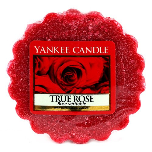 YANKEE CANDLE Wahre (True Rose) Duftwachstörtchen zum Schmelzen 22g, Kerzen, rot, Tart