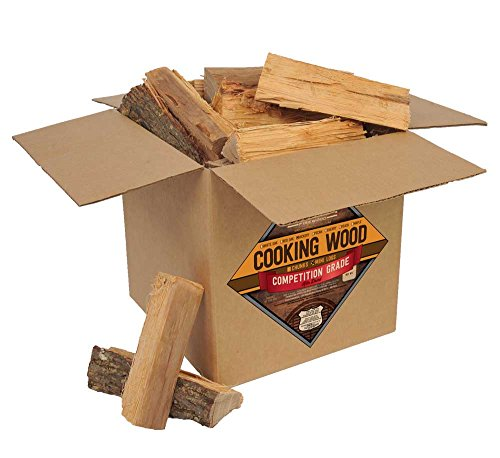 Smoak Firewood Cooking Wood Logs - USDA Certified Kiln Dried (8inch Pieces,...