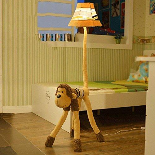 DSJ vloerlamp Cartoon creatief leuke kinderkamer vloerlamp woonkamer slaapkamer bedlampje AFFE verticale lamp