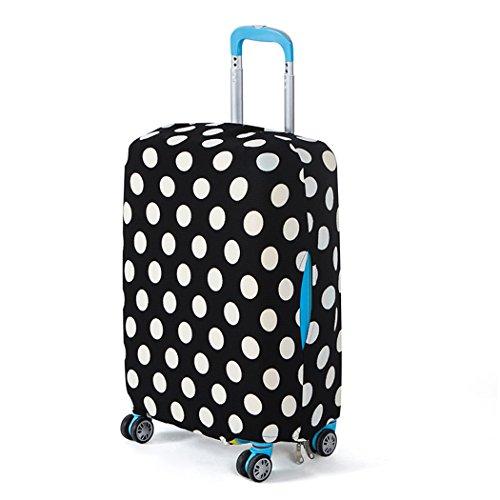Funda maleta suave elástico de anti-polvo Cubierta de protector equipaje con cremallera