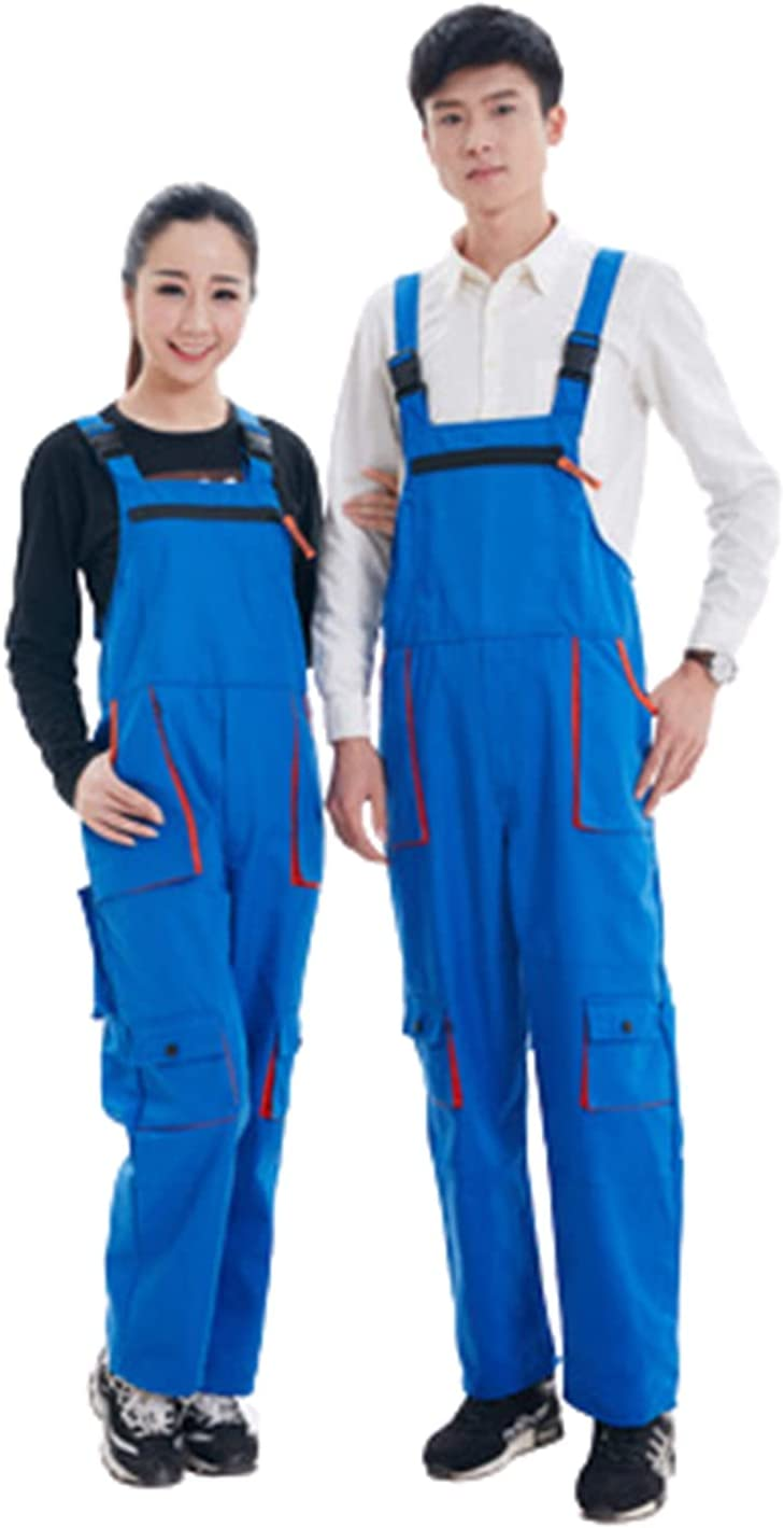 Cheap mail order shopping Soldering WFGZQ Cargo Pocket Work Twill Bib Overalls Working