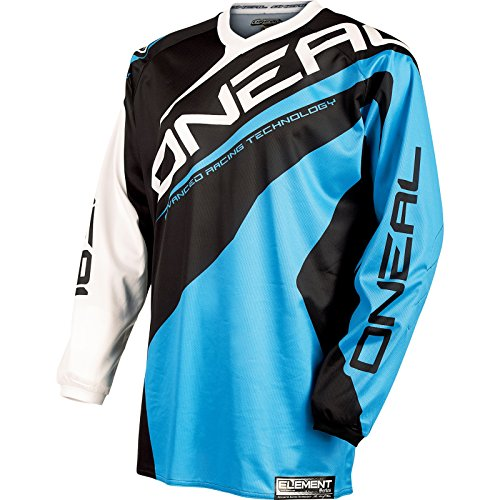 O'neal Element abbigliamento da corsa FR Maglia Lunga blu 2015 - Blu, M