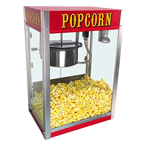 Find Bargain Paragon Theater Pop 8 Ounce Popcorn Machine for Professional Concessionaires Requiring ...