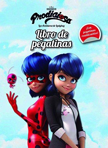 Prodigiosa. Las aventuras de Ladybug. Libro de pegatinas (Miraculous)