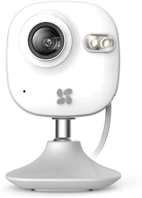 Ezviz C2mini 720P HD WLAN IP - Vídeo Cámara de Seguridad y de Vigilancia 2.4 Ghz Wi-Fi  con Micrófono y Altavoz Audio Bidireccional Visión Nocturna Monitor de Bebé/Mascotas