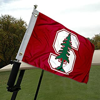 College Flags & Banners Co. Stanford Golf Cart and Boat Flag