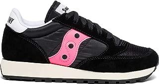 Women's Jazz Original Sneaker, Black/Pink, 10 M US