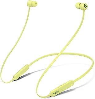 Trådlösa BeatsFlex-öronsnäckor – AppleW1-hörlurschip, magnetiska öronsnäckor, Class1Bluetooth, 12timmars lyssning – gul