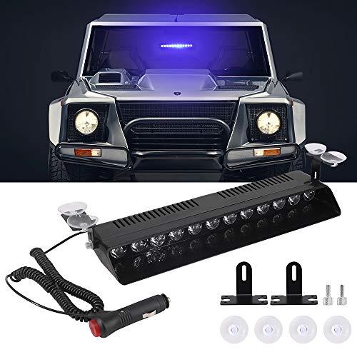 Luz estroboscópica LED del coche, Calevin Automotive 12v