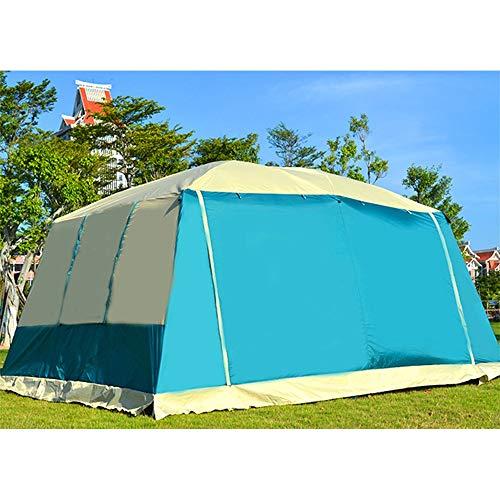 Tiendas de campaña Camping con Bolsa de Transporte expandible y Carpa (Color : Blue, Size : One Size)