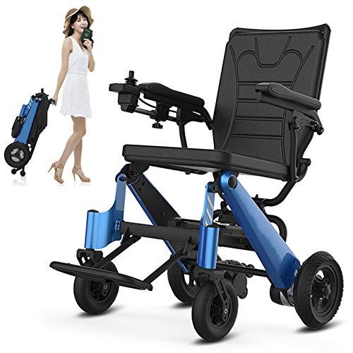 Cacoffay Inteligente Multifuncional Eléctrico Silla De Ruedas Completamente Automático Portátil Plegado Mayor Scooter Discapacitado Personas Rehabilitación Terapia Suministros
