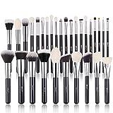 Pinceles de maquillaje, BEILI Juegos de pinceles de maquillaje 30 piezas Cabello natural profesional Premium Kabuki sintético Base Resaltador Sombras de ojos Kits de pinceles de maquillaje