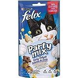 Purina Felix Party Mix Snack Gatto Dairy Delight, 8 Confezioni da 60 g Ciascuna...