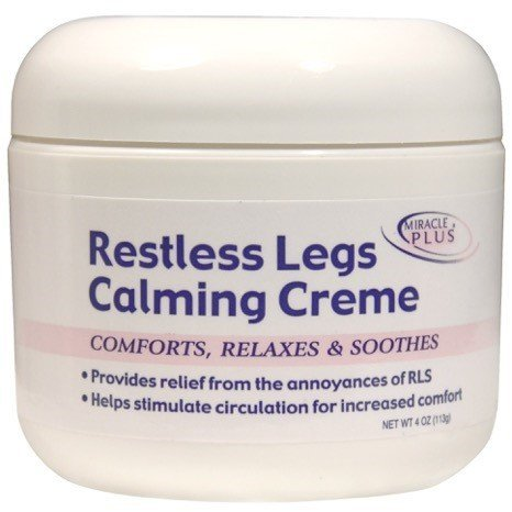 Restless Legs Calming Creme to Help Combat Fatigue, Irritability, Itching, Crawling, Shaking. (4oz)