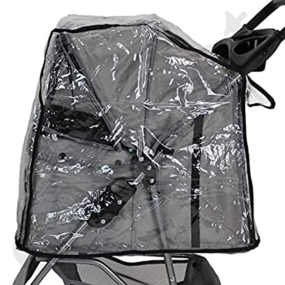 Easipet Rain Cover Pet Stroller 4