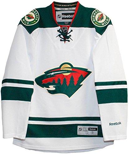 Reebok Minnesota Wild Carretera Blanco Premier Hockey Jersey