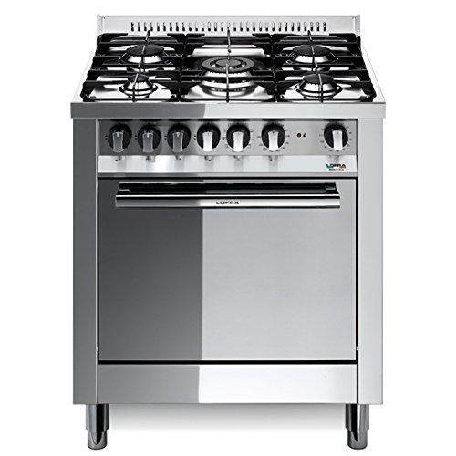 Lofra M76MF/C Cucina a Gas, Acciaio