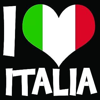 Solo E433 Italia Car Sticker, 15x15 cm - Multi Color
