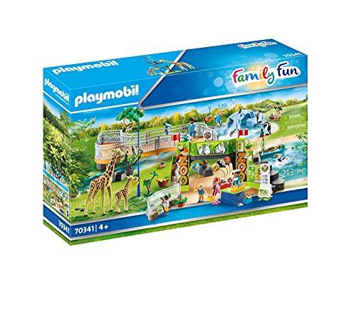 PLAYMOBIL Family Fun 70341 Gran Zoo, A partir de 4 años