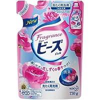 【花王】フレグランスニュービーズジェル 花しずくの香り つめかえ用 730g ×5個セット