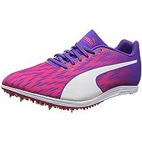 Puma Evospeed Distance 7 Wn, Zapatillas de Atletismo para Mujer, Rosa (Sparkling Cosmo-Electric Purple White), 42.5 EU