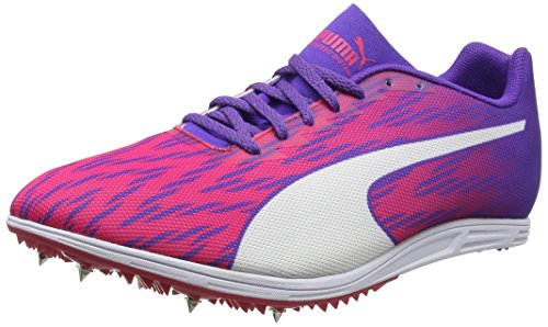 Puma Damen Evospeed Distance 7 Wn Outdoor Fitnessschuhe, Pink (Sparkling Cosmo-Electric Purple White), 38 EU