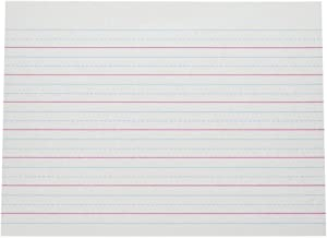 Pacon Multi-Program Handwriting Paper, 10 1/2 in X 8 in, D Nealian (Grade 1) Zaner-Bloser (Grade 2), 500 Sheets