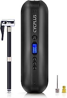 CYCPLUS 150 psi bandenpomp, elektrische compressor, luchtpomp met oplaadbare Li-ion-batterij, draagbaar, voor auto, motorf...