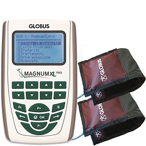 MAGNUM XL -PRO con 2 Solenoidi FLESSIBILI Globus Magnetoterapia 2 CANALI - 500 Gauss di picco totale